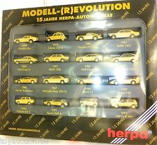 Model Revolutuion 15 years Herpa Cars HERPA 166096 H0 1:87 OVP