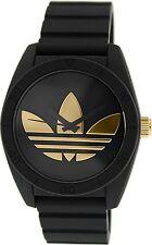 Adidas Men's Santiago ADH2912 Black Silicone Quartz Watch