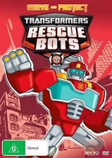 Transformers: Rescue Bots: Serve and Protect DVD NEW