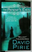 THE PATIENT'S EYES, rare US Sherlock Holmes Doyle & Bell crime pulp vintage pb