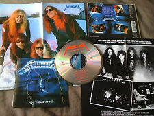 METALLICA / ride the lightning /JAPAN LTD CD poster