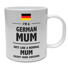 GERMAN MUM - Germany / Mummy / Mother / Funny / Novelty / Gift Idea Ceramic Mug