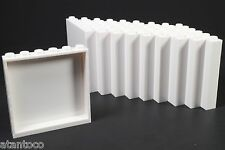 LEGO White Panel 1x6x5 Wall - Brand New (Lot of 30 Pieces)