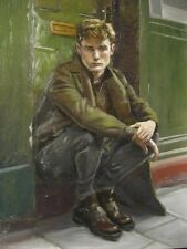 Portrait of a young man  (original oil painting)