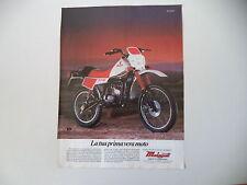 advertising Pubblicità 1983 MOTO MALAGUTI RCX W 50