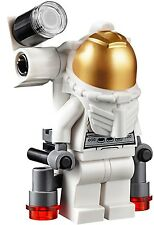 LEGO City MiniFigure: Space Port - Astronaut (Male w/ Side Lamp)  Set 60077