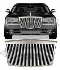 2005 2006 2007 2008 2009 2010 CHRYSLER 300 CHROME ROLLS ROYCE REPLACEMENT GRILL
