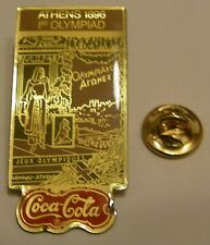 Pins coca cola Olympics ATHENS 1896 1rst OLYMPIAD
