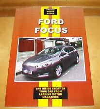 FORD FOCUS RS WRC ST 1.6 Ti-VCT 1.8 TDCi  ROAD TEST REPRINT BOOK.UMB
