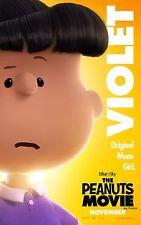 The Peanuts Movie (2015) Movie Poster (24x36) - Charlie Brown, Violet v13