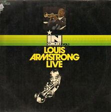 "12"" Louis Armstrong Live In Concert Vol. 1 (EMI Brunswick) Hello Dolly 70`s"