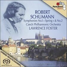 Symphonies Nos. 1 and 2 (Foster, Czech Po) SACD NEW