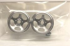 CB DESIGN CBD 0265 5 SPOKE ALUMINUM WHEELS 15x11- NEW 1/32 SLOT CAR PART