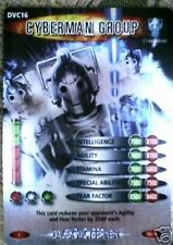 DR. WHO DVC DALEKS V CYBERMEN CARD DVC16 CYBERMAN GROUP