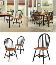 Kitchen Dining Chairs Room Wood 2 Set Chair Furniture Dinner Home Farmhouse Side