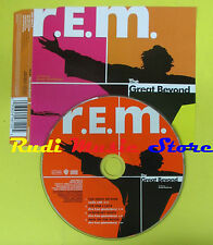 CD Singolo R.E.M. REM The great bevond 1999 germany WARNER no lp mc dvd (S12)