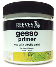Reeves White Gesso Primer - 946ml Tub - (0.946 litre)