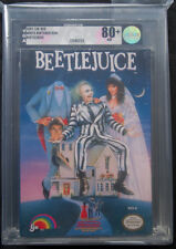 1991 LJN BEETLEJUICE NES VIDEO GAME NIB WHITE NINTENDO SEAL VGA 80+ NM #71544253