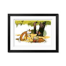 Calvin and Hobbes Treasure Hunt Poster Print