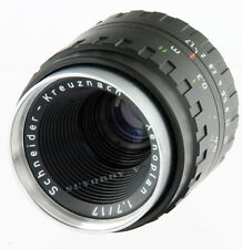 XENOPLAN 17mm f/1.7 Schneider Kreuznach c-mount M25 movie cine lens M4/3 BMPCC