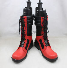 New x-men Deadpool Cosplay Shoes Boots for Helloween Customized Men''s Shoes