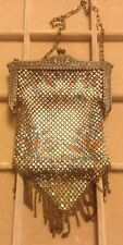 Antique/VTG Mandalian MFG Co Chain Mesh Purse Metal Hand Bag Art Deco