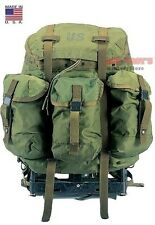 GENUINE MILITARY ALICE PACK MEDIUM OD GREEN RUCKSACK COMPLETE w/ FRAME & STRAPS
