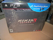 NEW Playstation 3 Ninja Gaiden 3 Collector's Edition Limited Edition
