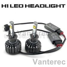 Car 60W 7600LM KIT H1 HID White 6000K CREE LED Conversion Headlight Bulb Lights