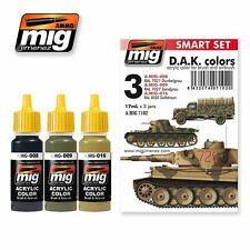 MIG PRODUCTIONS A.MIG7102 - SMART SET D.A.K COLORS - NUOVO