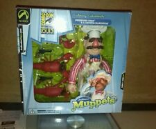 The MUPPETS SWEDISH CHEF & LOBSTER BANDITOS FIGURE SDCC 2003 Exclusive New Sale