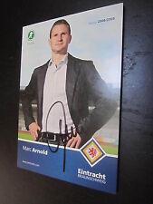 31940 Marc Arnold Eintracht Braunschweig original signierte Autogrammkarte