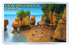 NEW BRUNSWICK CANADA FRIDGE MAGNET SOUVENIR IMAN NEVERA