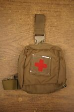 Drop Leg IFAK Pouch Coyote MOJO 130 Individual Medical Pouch