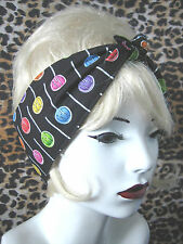 ROCKABILLY LOLLIE POP LOLLY HAIR HEAD WRAP SCARF   50'S STYLE / PIN UP