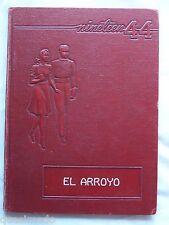 1944 HARLINGEN HIGH SCHOOL YEAR BOOK, HARLINGEN, TEXAS EL ARROYO