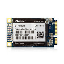 Zheino Q1 120GB SSD MSATA 3 III 6Gbp/s Solid State Hard Drive For Desktop Laptop