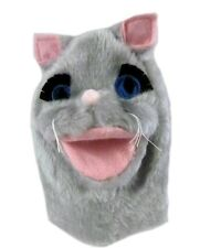 Gray Mouse Rat Blue Eyes Hand Puppet Play Imagination Sheram Unisex New