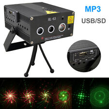100 patterns MP3 Laser Stage Lighting Adjustment DJ Party Wedding Club Projector