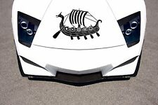 Car Hood Vinyl Decal Graphics Stickers Nordic Ancient Viking Ship  AB294