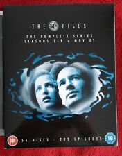 The X-Files DVD Box Set - Seasons 1 to 9 plus 2 movies - watched once