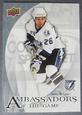 2010-11 Upper Deck Ambassadors of The Game #9 Martin St. Louis Tampa Bay