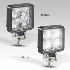 LED Square Flood Light 12v 24v 27W Spot Worklamp Reverse Tractor Truck Trailer