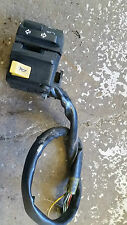 SUZUKI GSX 750 ES GR72A LEFT SIDE SWITCH GEAR (INDICATOR & PASS BUTTON MISSING)