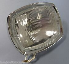 Scootopia Lambretta DL/GP complete headlamp with bulb holder (not casa)