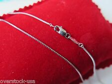 J.Lee 16INCH Solid Platinum 950 Necklace Classic Box Link Chain / 3~4g
