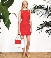 NEW (Sz2) Tory Burch Kimberly Dress Sleeveless Carnival Red 12141497 (K-80)