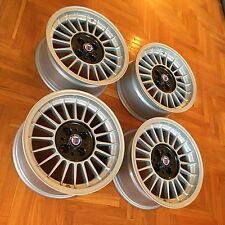 """OZ Alpina look 15"""" classic wheels RARE EURO BMW E21 E30 E10 2002 tii 325iS C1 B6"""