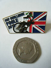 """SGP CHALLENGE POOLE 2013"" Gold Speedway Badge. Mint and unused."