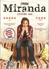 MIRANDA - Complete 1st & 2nd Series. Miranda Hart (NEW/SEALED 2xDVD BOX SET '11)